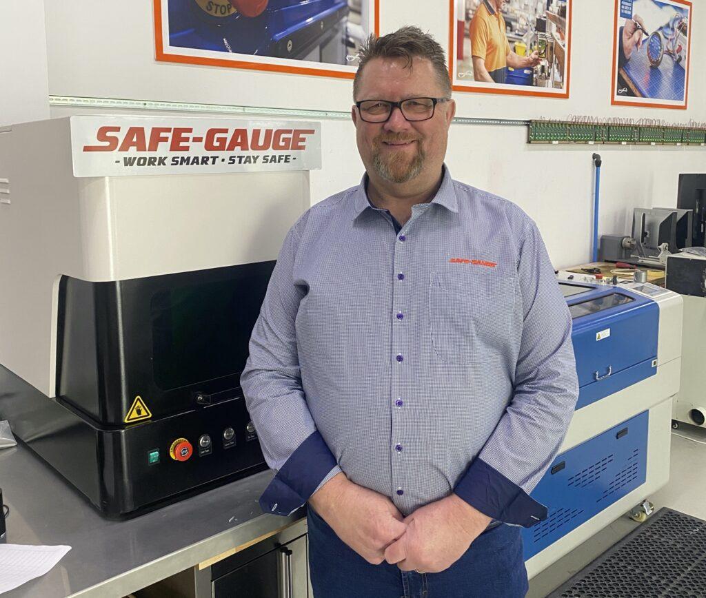David Fitzroy Sales Manager Safe Gauge
